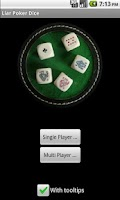 Screenshot of Liar Poker Dice