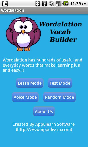 Wordalation Vocab Builder
