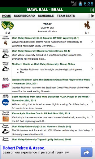Utah Valley University Basketb