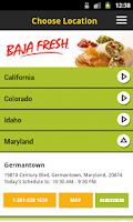 Screenshot of Bajafresh