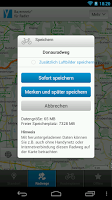 Screenshot of Cycle information for Bavaria