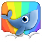 Whale Trail Live Wallpaper icon