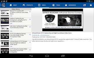 Screenshot of CCTV Camera Pros Mobile