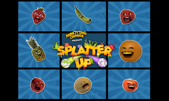Screenshot of Annoying Orange: Splatter Up!