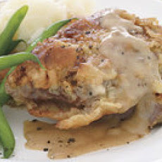 Chicken-Fried Steak with Gravy