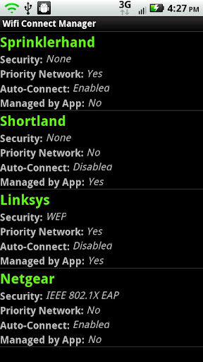 Wifi Connect Manager