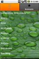 Screenshot of Ayurveda Remedy and Prevention