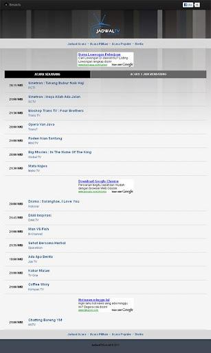 Jadwal TV Indonesia
