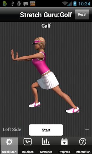 【免費健康App】Stretch Guru:Golf-APP點子