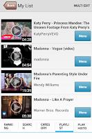 Screenshot of Music PV - HD Video player