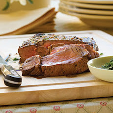 Lemon-Garlic Sirloin