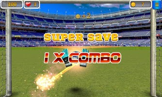 Screenshot of Super Goalkeeper - Soccer Game