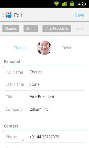 Leads - screenshot