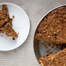 Pear-Filled Cowboy Coffee Cake