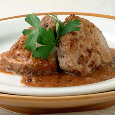 Pork Tenderloin with Guava Bourbon Sauce