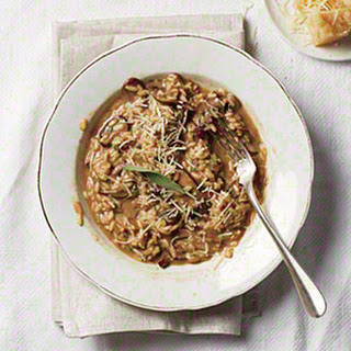 Mushroom and Roasted Garlic Risotto
