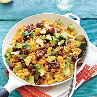 Skillet Mexican Mac and Cheese