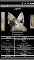 Screenshot of Geology - Mineral ID