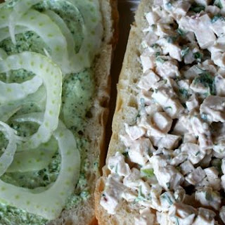 Emerald City Chicken Salad Sandwich