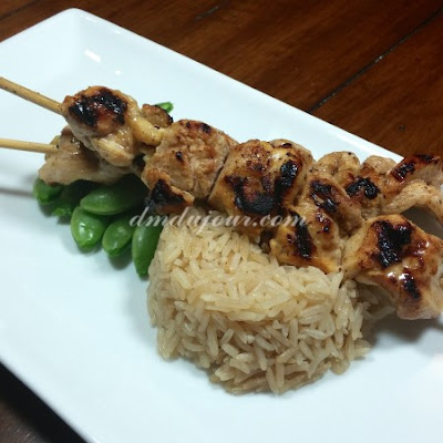 Citrus Marinated Chicken Kabobs