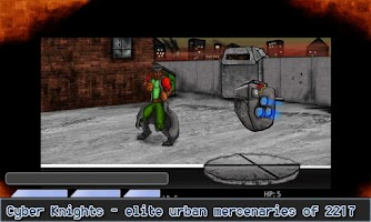 Screenshot of Cyber Knights RPG