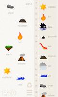 Screenshot of Little Alchemy