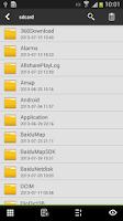 Screenshot of Lidroid File Explorer root es