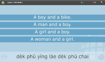 Screenshot of L-Lingo Learn Thai