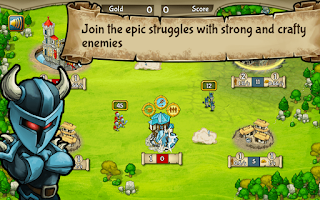 Screenshot of Clash of Castles