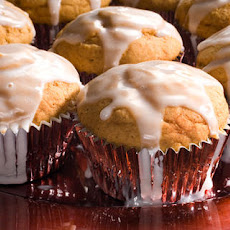 Pumpkin Cupcakes with Buttermilk Icing