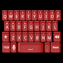 Red Jelly Keyboard Skin icon