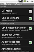 Screenshot of Rapid Inventory, Free
