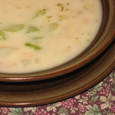Clam Chowder Canadian Military Style