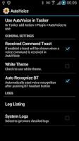 Screenshot of AutoVoice