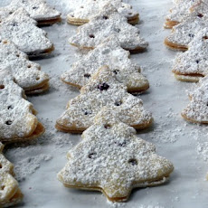 Jam-Filled Christmas Tree Cookies