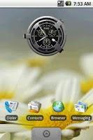 Screenshot of Hero Clock 5 Widget 2x2