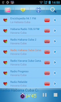 Screenshot of Cuba Radio