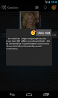 Screenshot of Celebrity Quiz