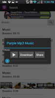Screenshot of Free Mp3 Music Downloader