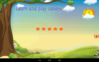 Screenshot of Learn Colors for Kids Toddlers