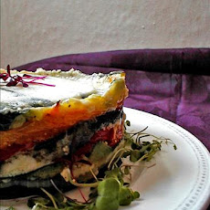 Ina Garten's Roasted Vegetable Torte (Barefoot Contessa)