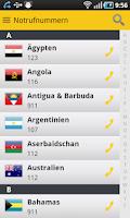 Screenshot of HUK Hilfe