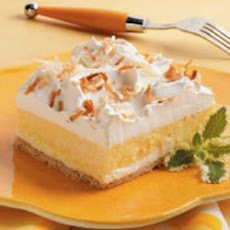 Coconut Cream Dessert