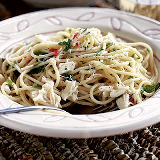 Spaghetti With Crab Meat Recipes