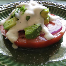 Tomato and Avocado Stacks