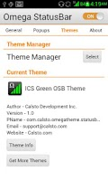 Screenshot of ICS Green OSB Theme