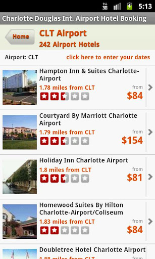 Hotels Near Charlotte Airport