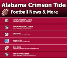 Screenshot of Alabama Football News