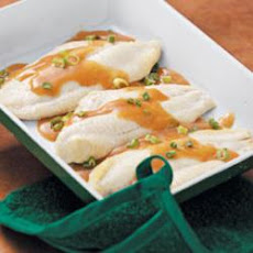 Catfish in Ginger Sauce