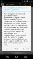 Screenshot of aJobCrawler